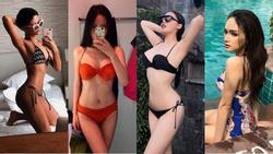Ngắm dàn Hoa hậu - Á hậu Việt Nam mặc bikini đi biển mà hoang mang vì không biết ai là người đẹp nhất