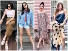 Hà Tăng mix đồ 'ăn gian' tuổi - Angela Phương Trinh nữ tính bất ngờ ĐẸP nhất street style tuần qua