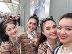 4 cô gái Việt sang tận Nga xem Pháp-Croatia đá chung kết World Cup 2018