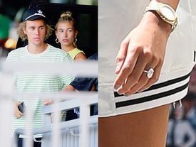 Nhẫn kim cương Justin Bieber cầu hôn Hailey Baldwin giá 500.000 USD