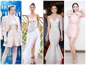 Chẳng hẹn mà gặp, Angela Phương Trinh - Lý Nhã Kỳ cùng 'lên đồ' tông hồng ĐẸP NHẤT THẢM ĐỎ tuần qua