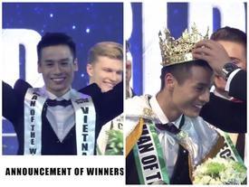 Mẫu nam Cao Xuân Tài đoạt ngôi Nam Vương Man of the World 2018