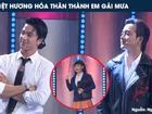 Việt Hương hóa thành 'em gái mưa' khiến Mai Tài Phến và dàn trai đẹp xao xuyến