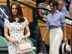 2 nàng dâu Hoàng gia Anh rủ nhau đi xem quần vợt: Chị duyên dáng, em sành điệu