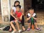 Vụ trao nhầm con 6 năm ở Hà Nội: Hai con quây quần bên mẹ Hương