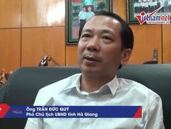Phó Chủ tịch Hà Giang: 'Điểm thi cao không thực chất phải loại ra'