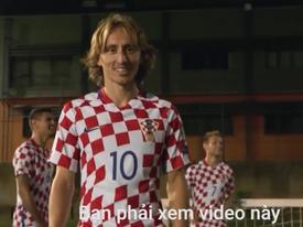 Croatia qua lời giới thiệu của Luka Modric và đồng đội