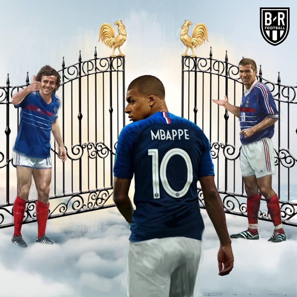 Đạt thành tích đáng nể, Mbappe chính thức đi vào lịch sử bóng đá Pháp. Ảnh: BR Football.
