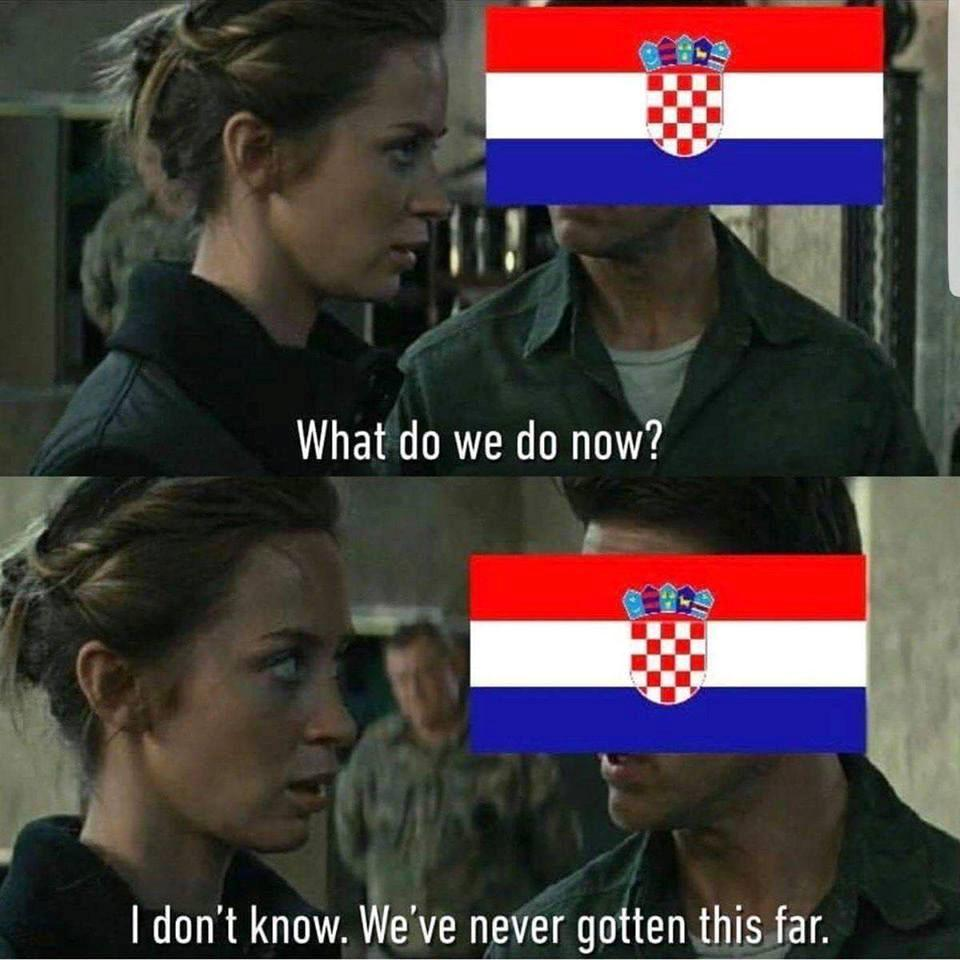 Trước giờ ra sân, dân mạng cho rằng Croatia vẫn còn khá bỡ ngỡ khi phải gặp đối thủ trẻ khỏe và có đội hình đồng đều là Pháp tại trận đấu ...