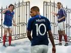Ảnh chế Mbappe thay thế Ronaldo, Messi sau khi Pháp vô địch World Cup