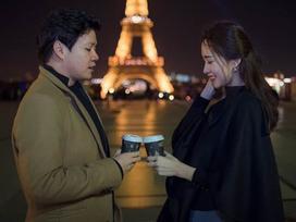 Mừng Pháp vô địch World Cup 2018, Hoa hậu Thu Thảo khoe ảnh chụp cùng chồng tại kinh đô ánh sáng