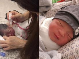 Giải cứu con trai Bella chưa bao lâu, Hằng 'Túi' lại đăng ảnh vừa cứu một bé gái 32 tuần tuổi bị bỏ rơi