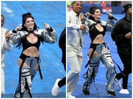Ca sĩ Era Istrefi hát bế mạc World Cup 2018 bị chỉ trích vì 'mặc quần như không'