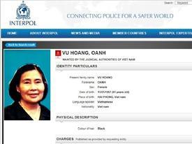 Truy nã quốc tế bà trùm ma túy Oanh 'Hà'