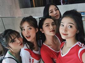 Trâm Anh và các cô gái nổi bật nhất dàn hotgirl World Cup