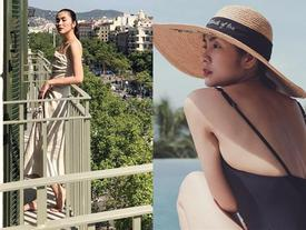 Khoe ảnh du lịch Đan Mạch, Tăng Thanh Hà lại gây tranh cãi với thân hình 'phồng xẹp' lên xuống thất thường