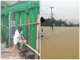 Hà Tĩnh: 400 hộ dân huyện Đức Thọ đang bị cô lập