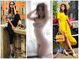 Ngọc Trinh khoe cơ thể mướt mắt - Hương Giang Idol có đến 2 outfit ĐẸP HẾT NẤC tuần qua