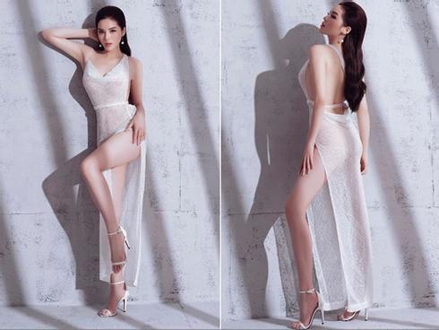 Loạt trang phục táo bạo của hoa hậu Kỳ Duyên