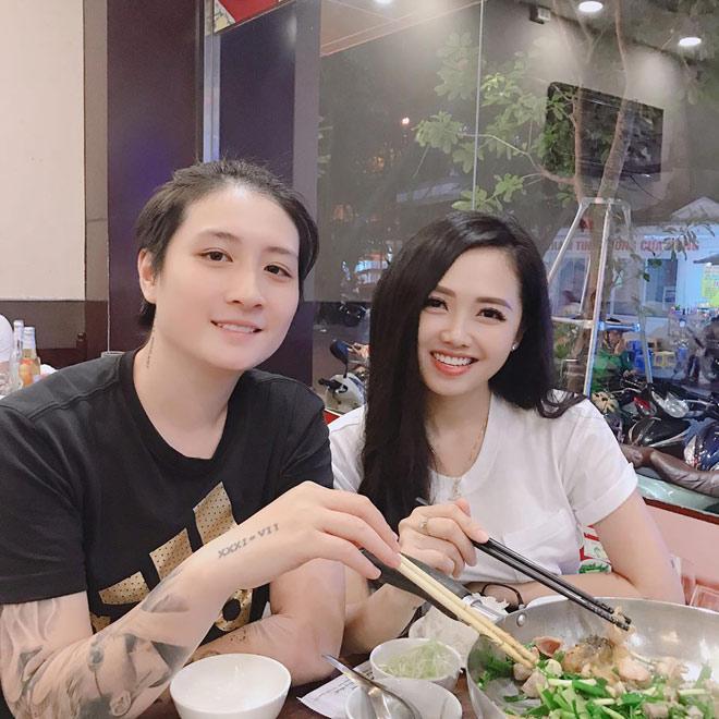 Quấn như sam với người tình đồng giới suốt 2 năm, ai dè khi chia tay, MC Ngọc Trang khẳng định tôi không phải đồng tính nữ-1