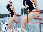 Da trắng sứ, body đẹp hơn xuân thì nhưng có ai nhìn thấy Thu Minh tím bầm chân trong bộ ảnh 'nóng rẫy'