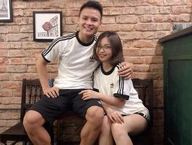 Bạn gái xinh đẹp, sexy của Quang Hải U23 Việt Nam lấn sân ca hát
