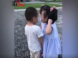 Màn bênh nhau bá đạo của cặp sinh đôi