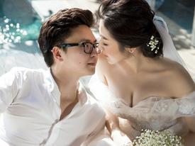 TRỰC TIẾP: Sao Việt tấp nập dự tiệc cưới của Á hậu Tú Anh