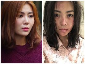 Lan 'Cave' bật khóc khi xem lại cảnh bị cưỡng hiếp tập thể trong 'Quỳnh Búp Bê'