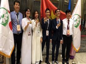 Lần đầu tiên Việt Nam có thí sinh đạt điểm cao nhất Olympic Sinh học quốc tế