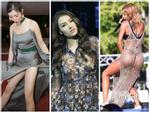 TOP SAO MẶC XẤU: Hồng Quế hớ hênh ngực trần phản cảm - Thiên Hương váy xẻ cao xém lộ hàng