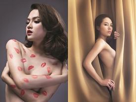 Những bức ảnh nude 'níu mắt người xem' của mỹ nhân Việt