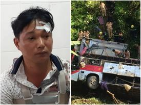 Vụ xe khách lao xuống vực 20 người thương vong: 'Lúc đó tôi chỉ biết lấy hai tay ôm đầu'