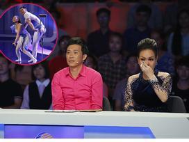 Việt Hương - Hoài Linh bật khóc trước cặp nghệ sĩ múa Trung Quốc khuyết tay, thiếu chân