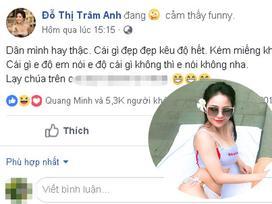 Bị nghi ngờ nâng cấp vòng 1 khi đăng ảnh diện bikini, hotgirl Trâm Anh đáp trả cực gắt: 'Kém miếng khó chịu à?'