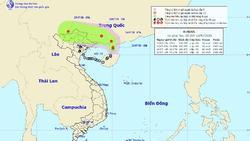 Dự báo thời tiết 24/7: Áp thấp tiến sát biên giới Việt-Trung, miền Bắc mưa to