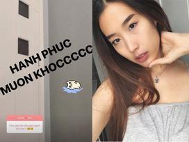 Bạn gái Huỳnh Anh chia sẻ 'hạnh phúc muốn khóc' khi lần đầu gặp mặt người yêu