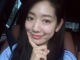 Park Shin Hye nhận được 'triệu tim' với bức ảnh xinh đẹp