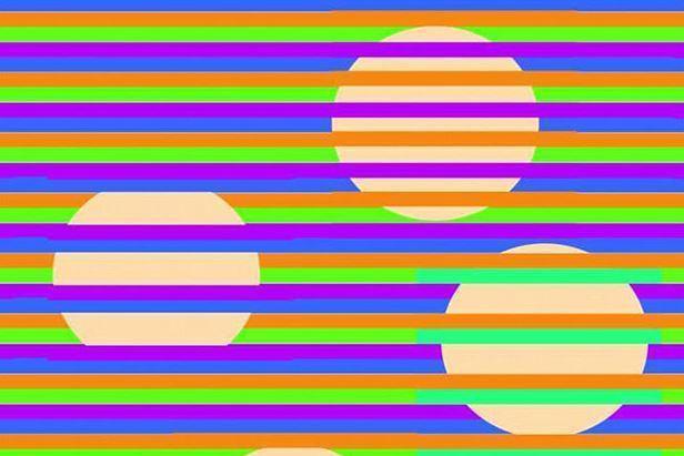 Dân Mạng Tranh Cãi Về Bức ảnh đoán Màu Sắc Các Hình Tròn