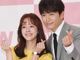 Ji Sung vàHan Ji Min tình tứ khiến ai cũng ghen tị