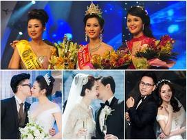 Thật trùng hợp, dàn mỹ nhân top 3 Hoa hậu Việt Nam 2012 ai nấy đều lấy được chồng gia thế 'khủng'