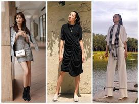 Có ai như Hà Tăng, chỉ diện váy đơn sắc cũng 'chiếm ngôi' mặc ĐẸP NHẤT street style tuần qua