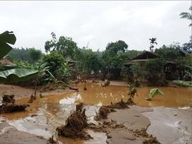 Mưa lớn gây nguy cơ lũ quét, sạt lở ở Yên Bái, Phú Thọ, Hòa Bình