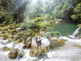 Vẻ đẹp thơ mộng của thác Bản Ba (Tuyên Quang)