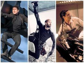 Không chỉ Tom Cruise, 5 ngôi sao này cũng tự đóng cảnh hành động mạo hiểm