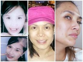 Những bức ảnh mặt mộc 'chỉ muốn chôn vùi' của dàn mỹ nhân Việt