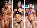 Mặc bikini làm từ băng dính điện, người mẫu chắc sẽ đau hết vía lúc giật nó ra khỏi nơi nhạy cảm!