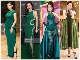 Mỹ nhân Việt lăng-xê tông xanh lá trendy: Người đẹp mướt mắt - kẻ xấu thảm thương