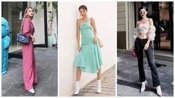Sau màn bóc giá gương mặt 250 triệu, Khánh Linh 'chiêu đãi' fan bằng loạt street style khoe eo thon 'đốt mắt'