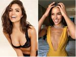 Hoa hậu vàng trong làng bị đá mạnh dạn phanh áo khoe vòng 1 sexy nghẹt thở-12